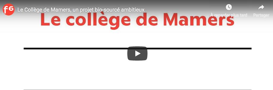 Vidéo du collège de Mamers