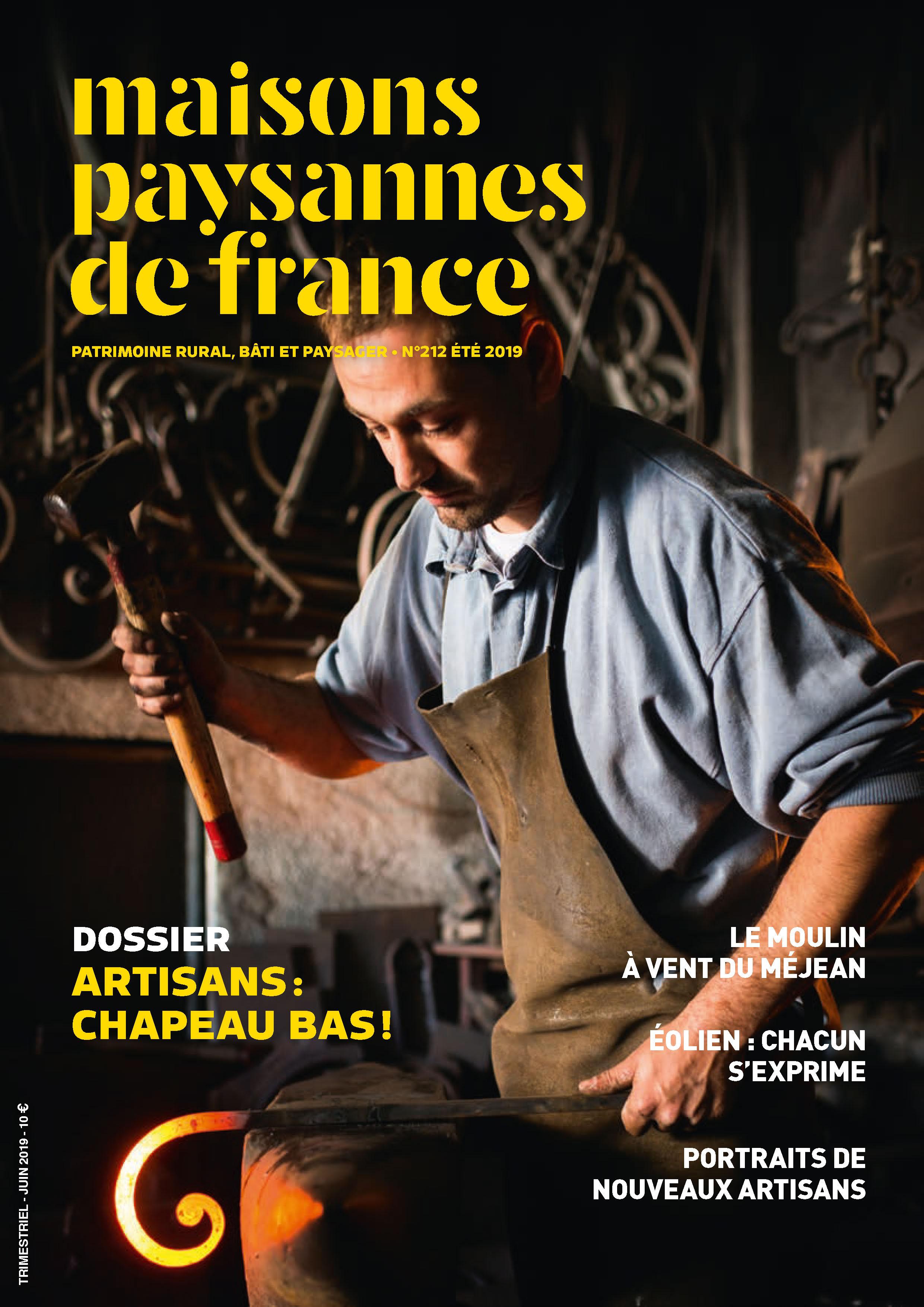 Maisons Paysannes de France n°212